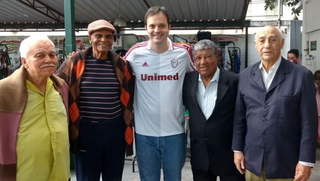 Joel, Adalberto, Jair Marinho e Emilio
