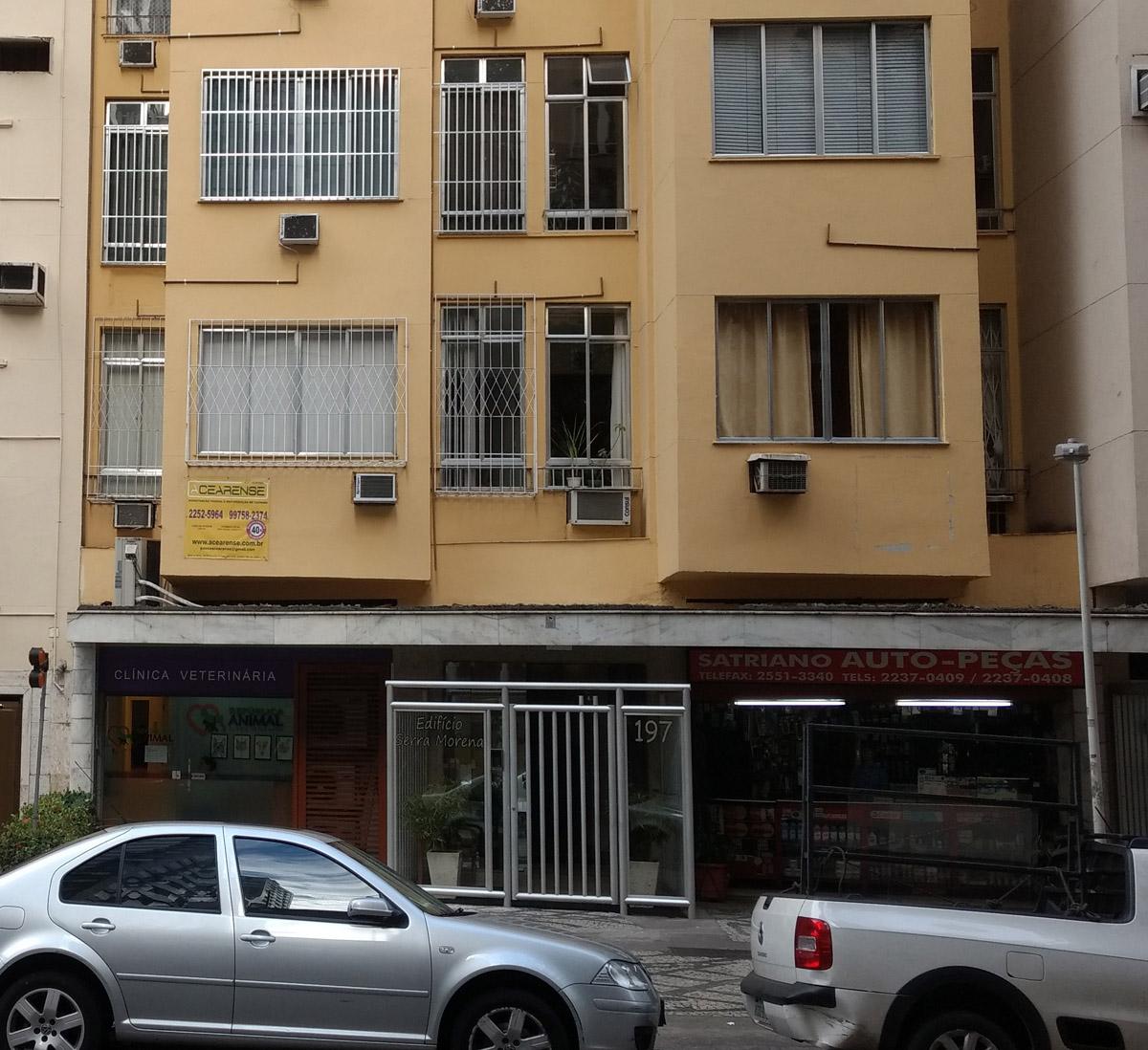 Rua Marquês de Abrantes, 197. Foiaqui.