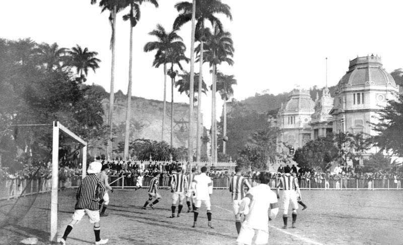 Brasil x Exeter 1914